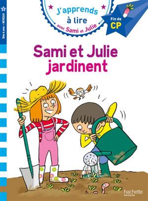 Sami et Julie jardinent : fin de CP, niveau 3
