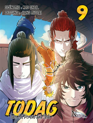 Todag : tales of demons and gods. Volume 9