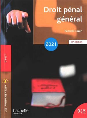 Droit pénal général : 2021