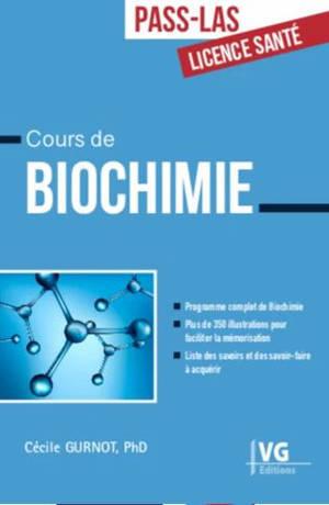 Cours de biochimie, Pass-LAS, licence santé