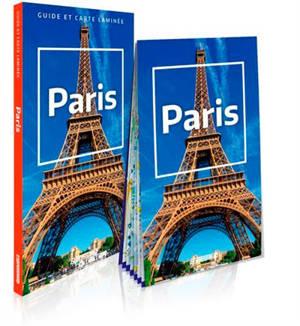 Paris : guide et carte laminée