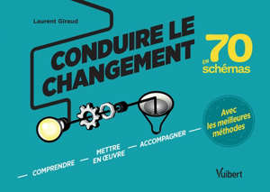 Conduire le changement en 70 schémas : comprendre, mettre en oeuvre, accompagner avec les meilleures méthodes