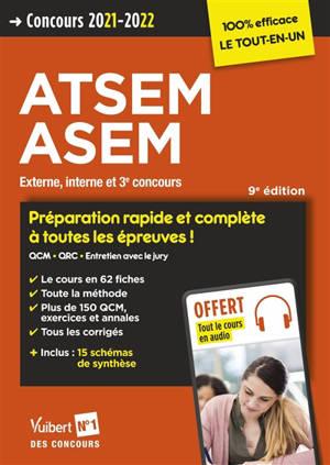 ATSEM, ASEM : externe, interne et 3e concours : concours 2021-2022