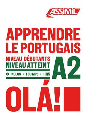 Apprendre le portugais : niveau débutants : niveau atteint A2