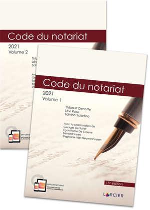 Code du notariat 2021