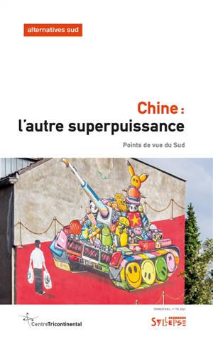 Alternatives Sud. n° 1 (2021), Chine : l'autre superpuissance : points de vue du Sud