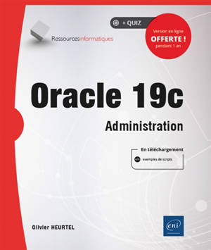 Oracle 19c : administration