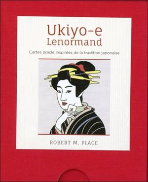 Ukiyo-e Lenormand : cartes oracle inspirées de la tradition japonaise