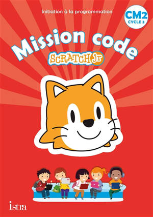 Mission code Scratch jr, CM2, cycle 3