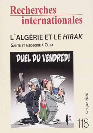Recherches internationales. n° 118, L'Algérie et le Hirak