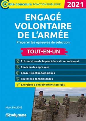 Engagé volontaire de l'armée : préparer les épreuves de sélection, tout-en-un : 2021