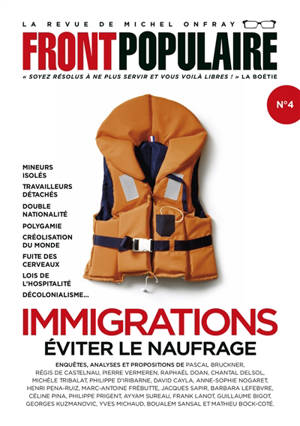 Front populaire. n° 4, Immigrations : éviter le naufrage