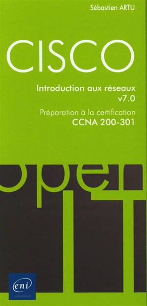 Cisco : introduction aux réseaux : préparation à la certification CCNA 200-301