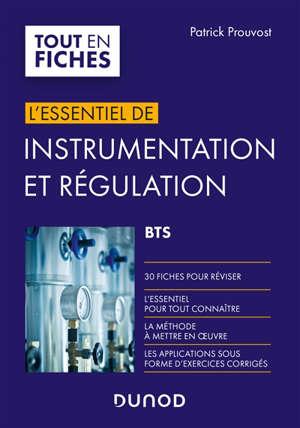 Instrumentation et régulation : BTS : en 30 fiches