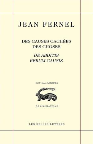 Des causes cachées des choses = De abditis rerum causis, 1548