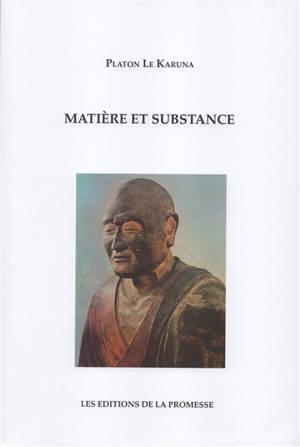 Matière et substance