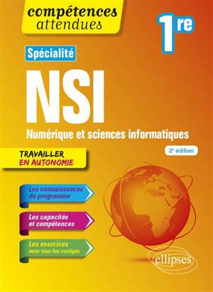 Spécialité NSI, numérique et sciences informatiques 1re : travailler en autonomie