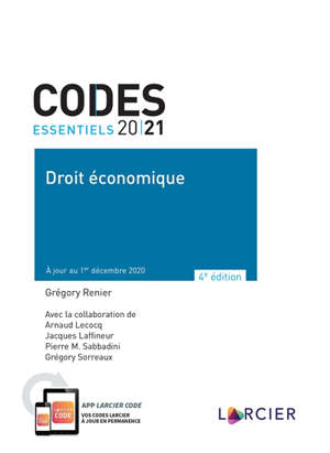 Droit économique 2021