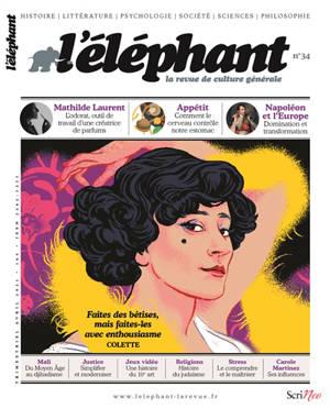 L'Eléphant : la revue. n° 34