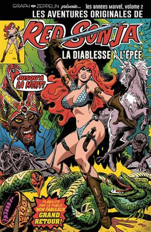 Les aventures originales de Red Sonja, la diablesse à l'épée : les années Marvel. Volume 2, 1977