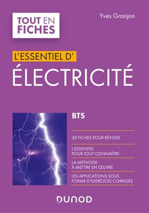 L'essentiel d'électricité : BTS