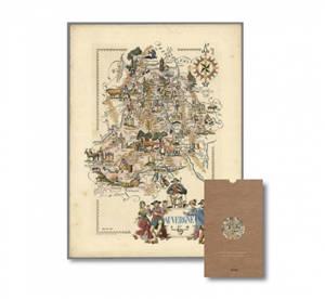Carte ancienne de l'Auvergne