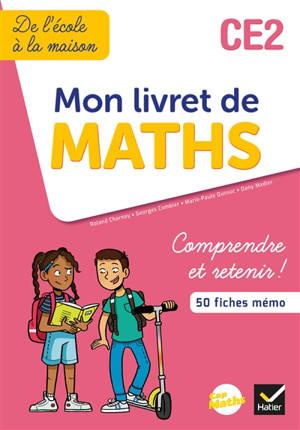Cap maths CE2 : mon livret de maths