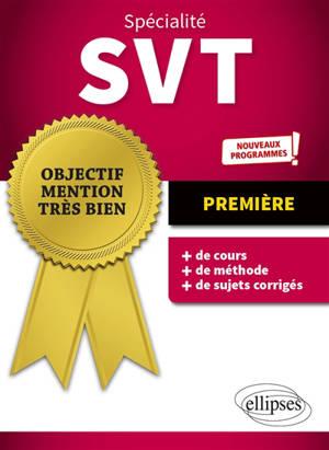 Spécialité SVT 1re : nouveaux programmes