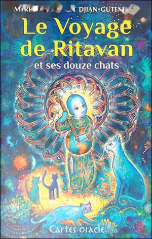 Le voyage de Ritavan et ses douze chats : cartes oracle