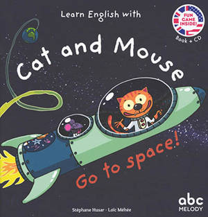 Learn English with Cat and Mouse, Go to space!
