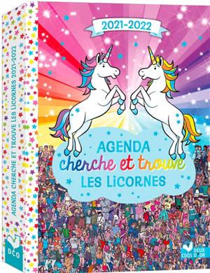Agenda cherche et trouve les licornes : 2021-2022