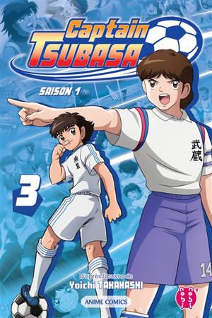 Captain Tsubasa : saison 1. Volume 3