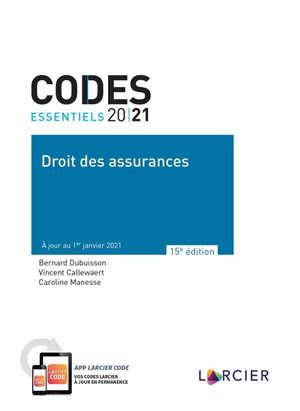 Droit des assurances 2021