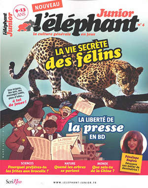 L'Eléphant junior. n° 4
