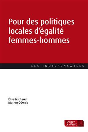 Pour des politiques locales d'égalité femmes-hommes