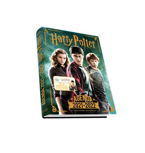 Harry Potter : agenda 2021-2022