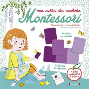 Mes cartes des couleurs Montessori