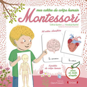 Mes cartes du corps humain Montessori
