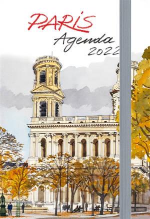 Paris : agenda 2022 : petit format