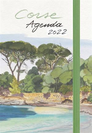 Corse : agenda 2022 : petit format