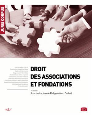 Droit des associations et des fondations