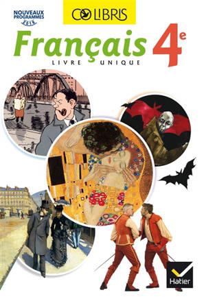 Français livre unique 4e : nouveaux programmes 2016
