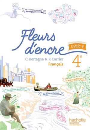 Français 4e : manuel de l'élève : nouveau programme