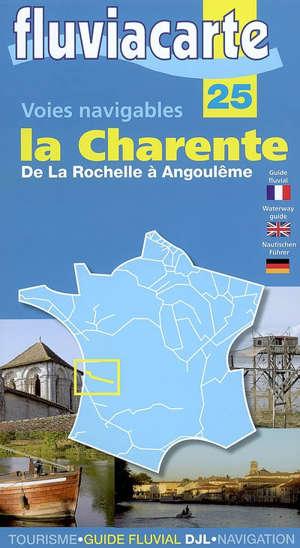 La Charente, de La Rochelle à Angoulême : voies navigables