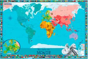 Ma carte du monde