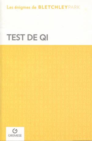 Test de QI
