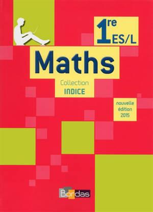Maths 1re ES-L