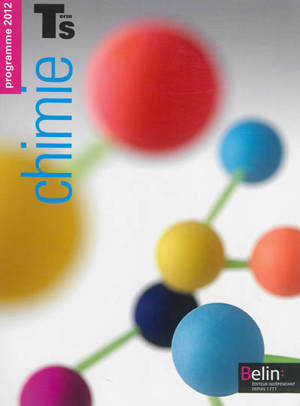 Chimie terminale S : programme 2012