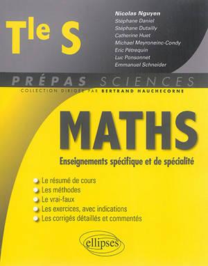 Mathématiques terminale S : enseignements spécifique et de spécialité