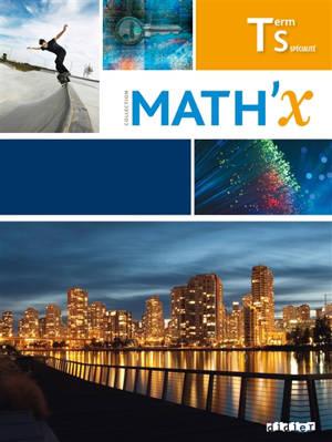 Math'x, terminale S spécialité